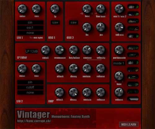 free virtual synthesizer vst
