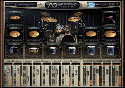 Groove Monkee Releases MIDI Rock Loops for Addictive Drums