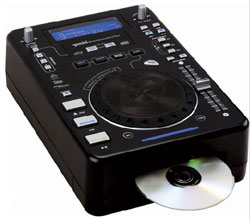 Gemini Intros MPX-40 Professional Touch-Sensitive MP3/CD Player
