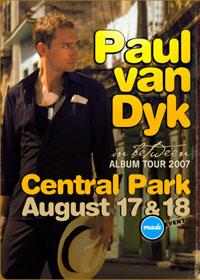 Paul van Dyk in Central Park