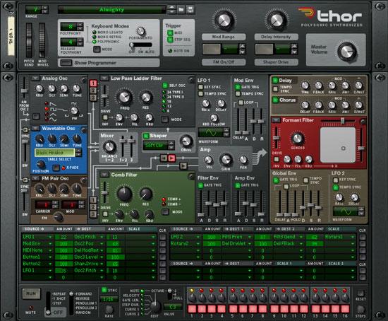 Thor Synthesizer
