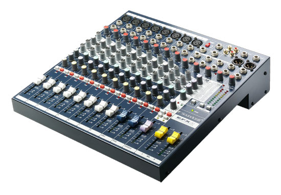 Soundcraft Intros Three Mixer Ranges with Built-in Lexicon Effects