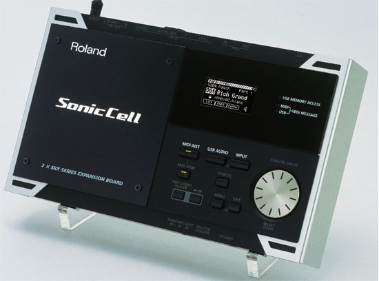 Roland SonicCell Desktop Synthesis for the PC Generation