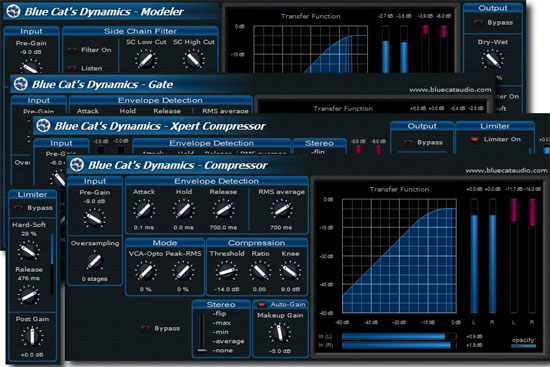 Blue Cat Audio Updates Blue Cat's Dynamics to V2.0