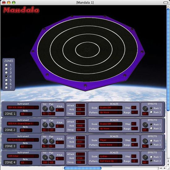 Synesthesia Intros Mandala 2.0 High Definition Drum And Synthesizer