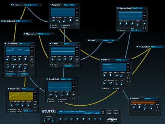 free modular synthesizer