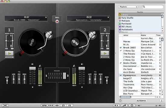 Mac DJ software