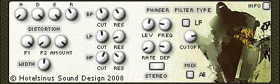 free drum and bass synth