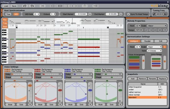 free tempo harmony  software