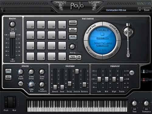 sonivox pulse - instrumento virtual estilo mpc
