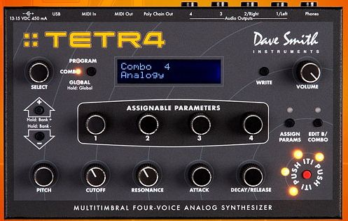 DSI Tetra Ambient Synth Jam
