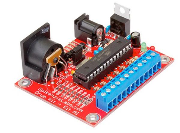 Build Your Own Drum Controller With Drum Kit Kit AI   Synthtopia