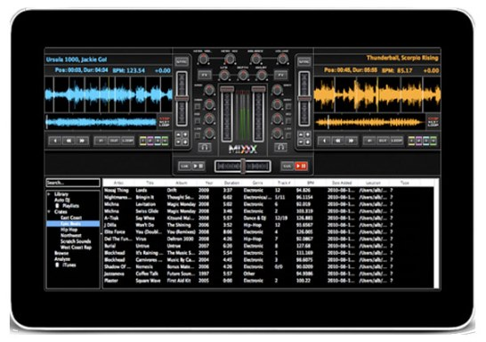 Indamixx Music Tablet