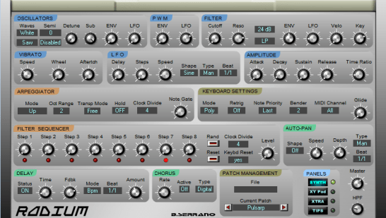 Free Synthesizer for Windows