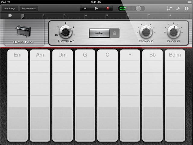 Piano Garage Band : Apple intros garageband for the ipad u the mobile daw u synthtopia