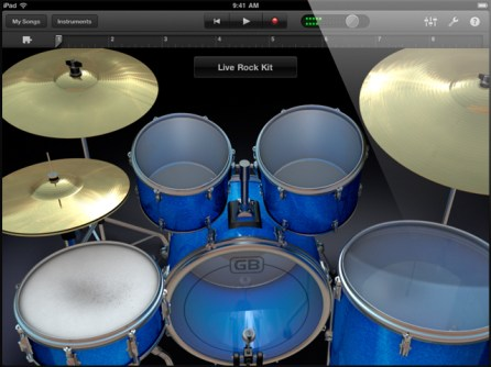ipad-garageband-drums
