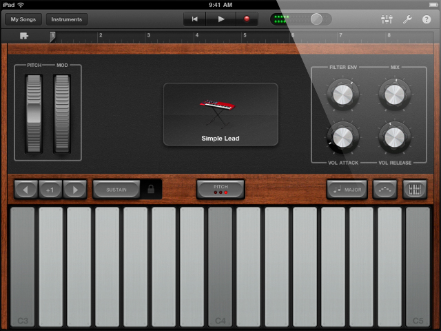 ipad-garageband-synthesizer