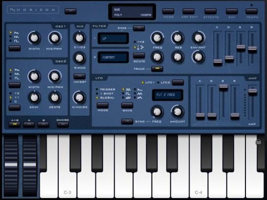 Horizon Synthesizer for iPad