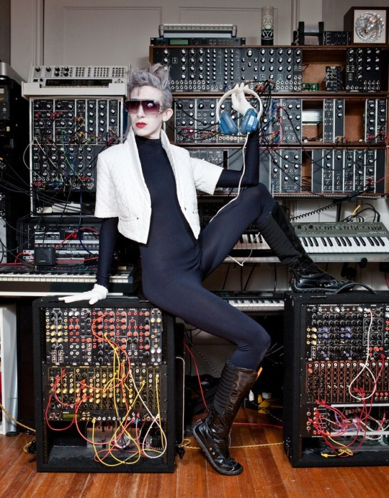 The Synthstress In Her Lair