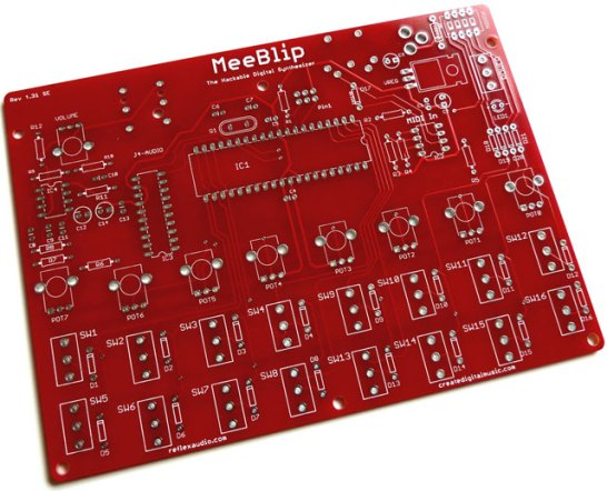 Meeblip synthesizer