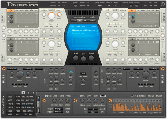 Diversion VST synthesizer for Windows