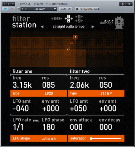 Analog Industries Filterstation