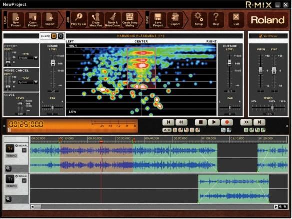 Roland R-Mix Music Software