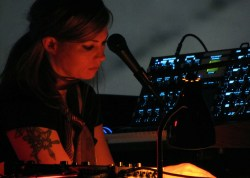 Tara Busch at Moogfest 2011