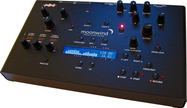 Jomox Moonwind analog filter tracker