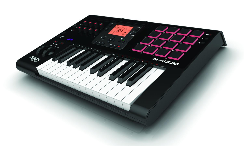 m audio intros axiom a i r midi controllers at 2012 summer namm show synthtopia. Black Bedroom Furniture Sets. Home Design Ideas