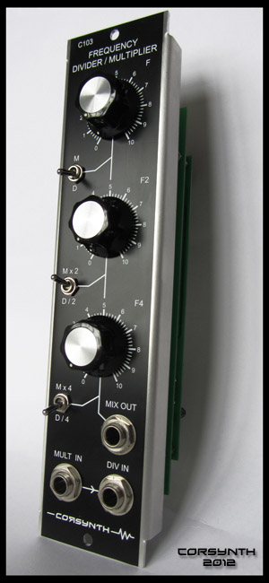 Corsynth Frequency Divider