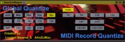 Max For Live MIDI Quantize
