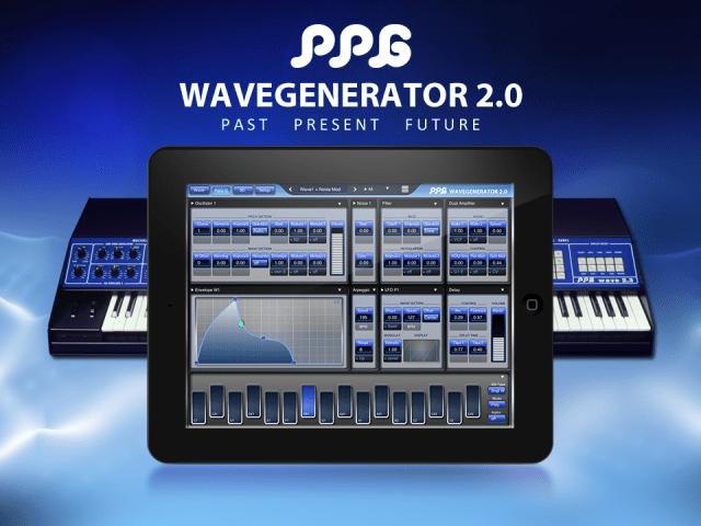 PPG Wavegenerator iPad