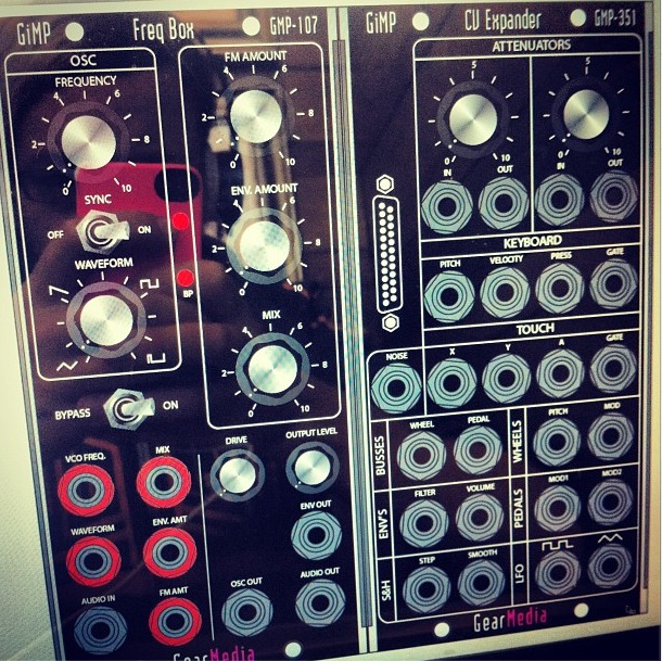 5U Moogerfooger Modular Synthesizer Modules