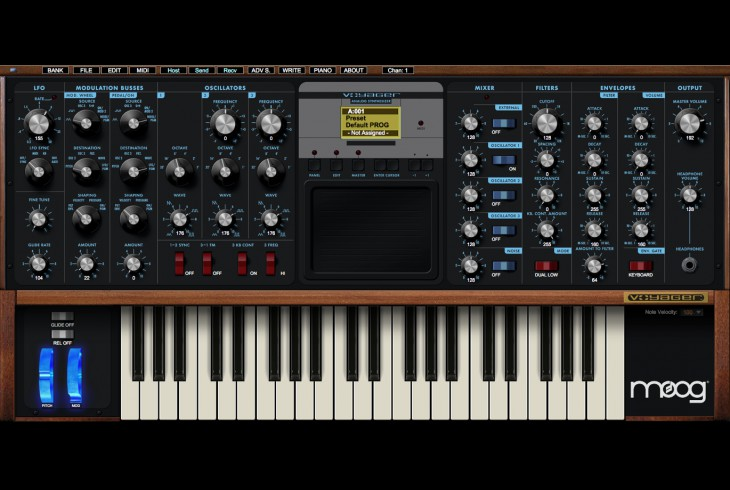 Voyager Plug SE Lets You Control A Minimoog From Your DAW – Synthtopia