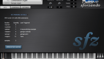 Cakewalk Drops Price On SFZ+ From $60 To $0 – Synthtopia
