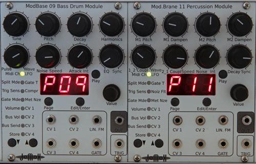 Jomox Intros Eurorack Drum Modules