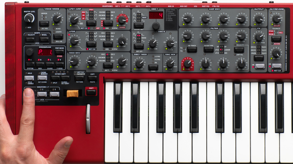 nord lead 4 debuts at musikmesse synthtopia. Black Bedroom Furniture Sets. Home Design Ideas