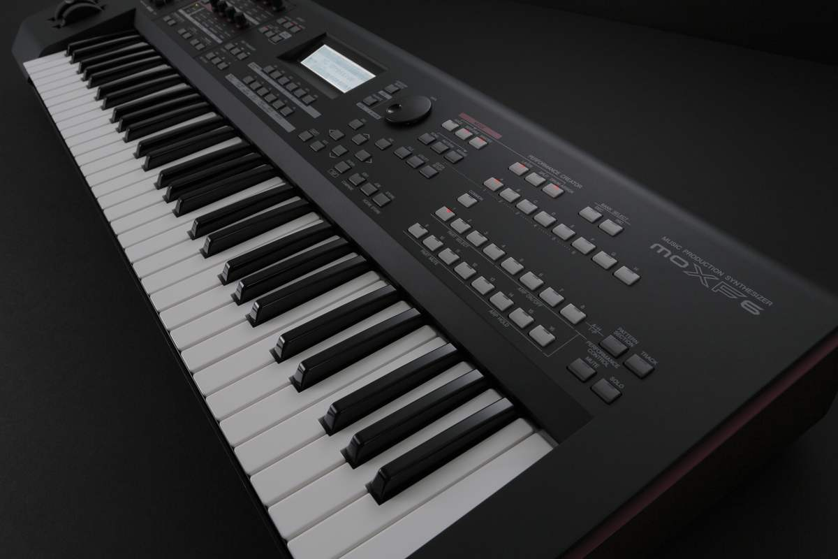 Yamaha MOXF Synthesizers Offer Massive Sound Library