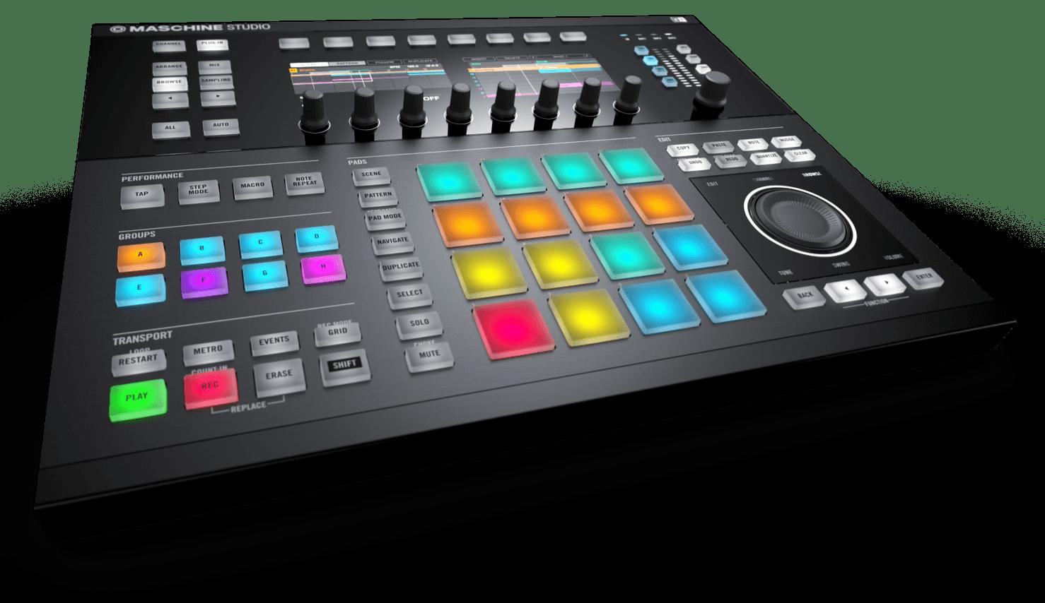 Mashine Studio, Maschine 2.0 Now Available - Synthtopia
