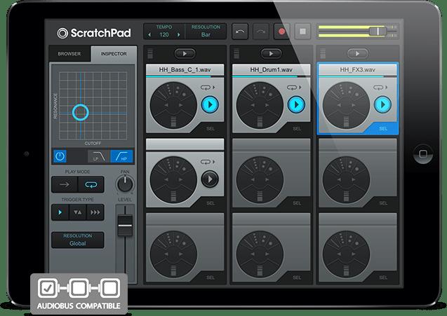 ScratchPad-iPad-Air-Audiobus