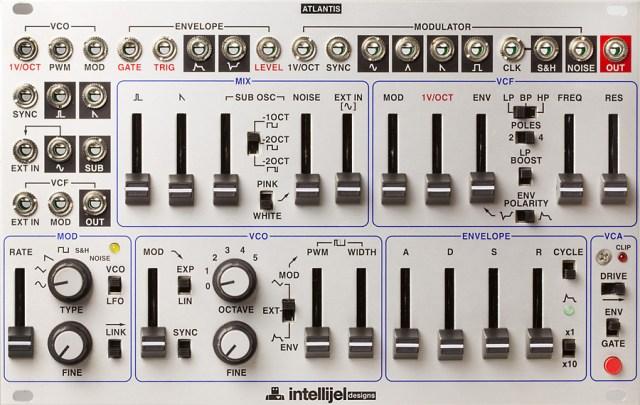 Intellijel Atlantis Eurorack Synthesizer Voice Hands-On Demo