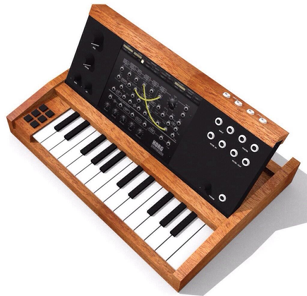 MiniMoog Style iPad Controller \u2013 Synthtopia