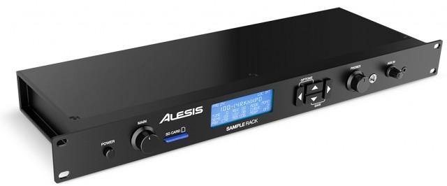 Alesis Intros Sample Rack Percussion Module Synthtopia
