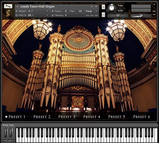 Free Church Organ Virtual Instrument – Synthtopia