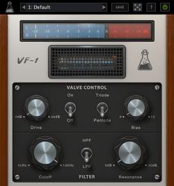 AudioThing-Valve-Filter-VF-1-GUI