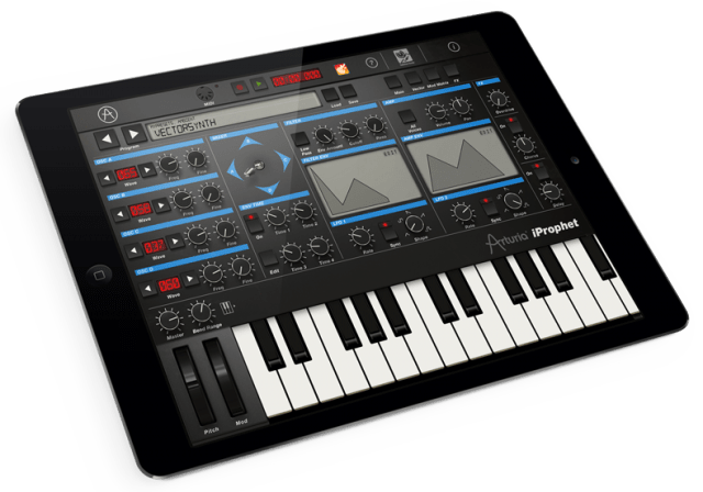 Arturia iProphet Brings Sequential Circuits Prophet VS Sound To iPad