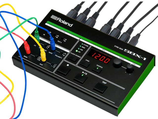 roland-sbx-1-synchronization -hub