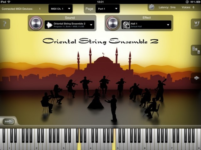 Oriental Strings Sound Module For iPad – Synthtopia