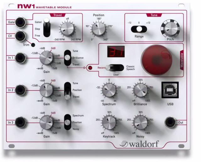 Waldorf-nW1-Wavetable-Module